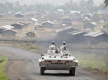 Patrouille de l'ONU, à Kibati, non loin de Goma, en République démocratique du Congo. Reuters