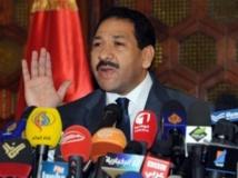 Lotfi Ben Jeddou, ministre de l'Intérieur, lors d'une conférence de presse à Tunis, le 26 juillet 2013 AFP PHOTO / FETHI BELAID