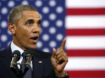 Le président américain Barack Obama n'a pas décidé d'intervenir ou non en Syrie. REUTERS/Kevin Lamarque