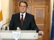 Le président chypriote Nicos Anastasiades. AFP PHOTO / PIO / CHRISTOS AVRAAMIDES