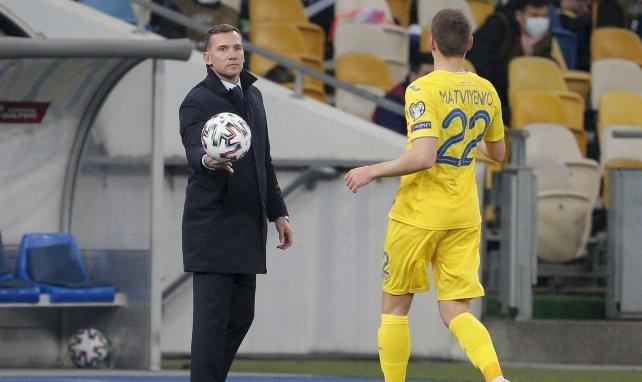 Andriy Shevchenko n'est plus le sélectionneur de l'Ukraine