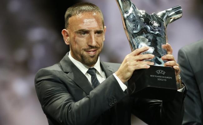 UEFA-Joueur de l'année: Ribéry devance Messi et Ronaldo et succède à Iniesta
