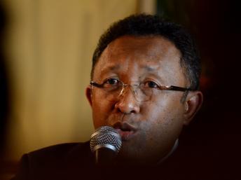 Andry Rajoelina soutiendrait Hery Rajaonarimampianina (photo) pour la présidentielle malgache. RFI/ Bilal Tarabey