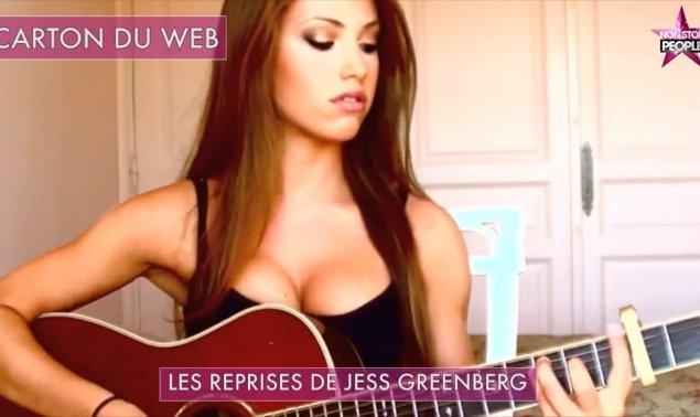 Jess Greenberg, la guitariste qui fait le buzz grâce à son décolleté