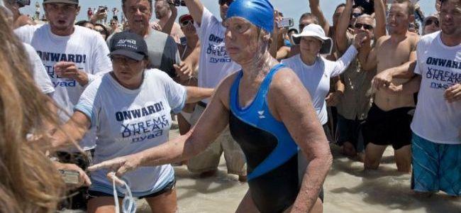 Diana Nyad, 64 ans, a nagé de Cuba à la Floride