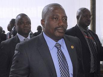 Le président de la République démocratique du Congo, Joseph Kabila. AFP PHOTO/SIMON MAINA