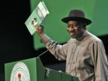 Le président Goodluck Jonathan lors du Jour de la démocratie, à Abuja, le 29 Mai 2013. Reuters/Afolabi Sotunde