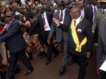 Ibrahim Boubacar Keïta, le 4 septembre à Bamako. Le nouveau président veut rétablir une fraternité entre les Maliens. AFP PHOTO HABIBOU KOUYATE