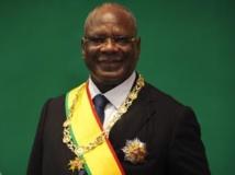 Le président malien Ibrahim Boubacar keïta après son investiture, le 4 septembre 2013
