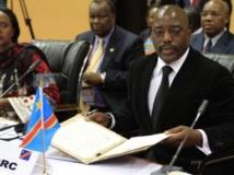 Le président congolais Joseph Kabila au sommet de Kampala, jeudi 5 septembre 2013. REUTERS/James Akena