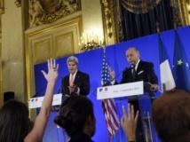 Syrie: Paris et Washington se félicitent du soutien croissant à une action forte contre