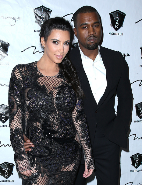 "Kim Kardashian et Kanye West: Un couple ""tellement normal"", selon Carine Roitfeld"