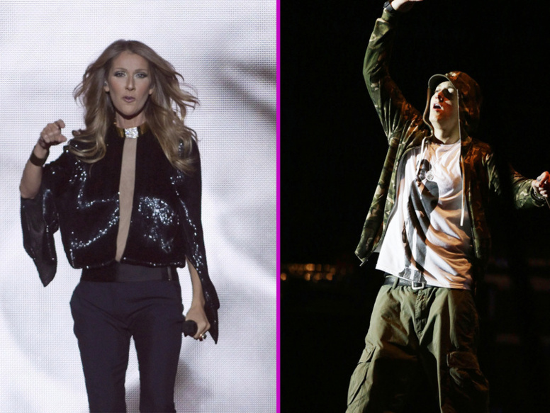 Céline Dion, bientôt en duo avec... Eminem?