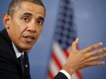 Le président Barack Obama REUTERS/Kevin Lamarque