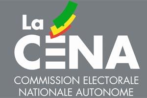 Révision des listes électorales : la CENA entame une tournée d'inspection vendredi auprès des commissions administratives