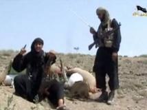 Image d'une vidéo montrant des djihadistes dans un camp d'entraînement au Pakistan. Internet