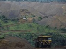 La mine d'exploitation de la Comilog, une société du groupe Eramet à Moanda au Gabon. eramet.f