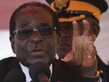 Robert Mugabe, président zimbabwéen, le 25 août dernier à Harare. REUTERS/Philimon Bulawayo