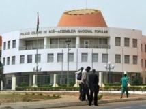 Le Parlement de la Guinée-Bissau. AFP PHOTO/ ISSOUF SANOGO