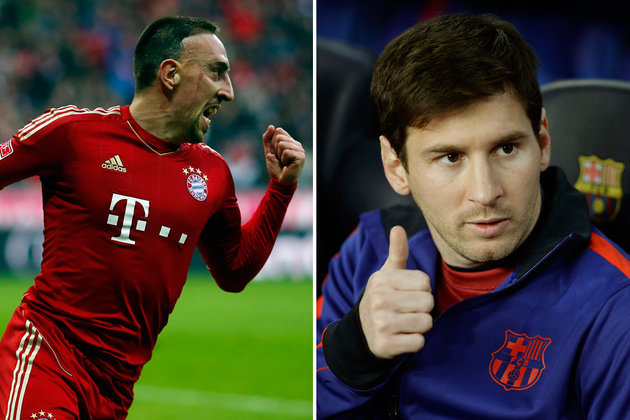 "Bayern: Ribéry ""mérite"" son prix UEFA pour Messi"