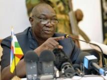 Le président Michel Djotodia a annoncé une série de décisions, vendredi 13 septembre. AFP PHOTO / SIA KAMBOU