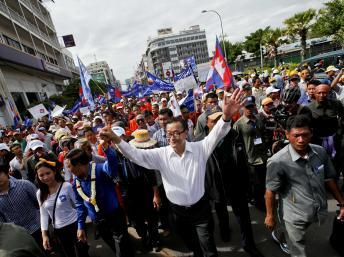 Cambodge: forte affluence au rassemblement de l'opposition