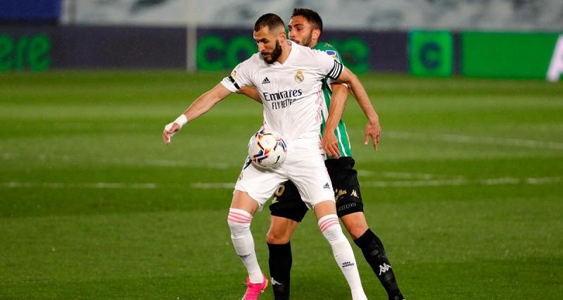 Le Real Madrid l'emporte difficilement face au Betis Séville en Liga