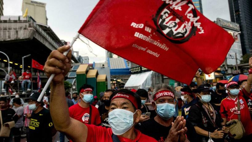 Thaïlande: nouvelle manifestation avant le vote de la motion de censure contre le gouvernement