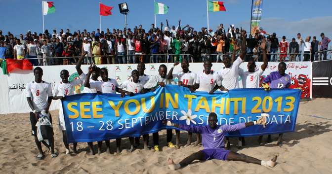 Beach Soccer : Après avoir plané sur le toit africain, les « Lions » défient le monde