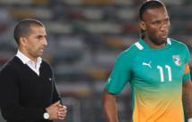 A trois semaines du match aller Sénégal vs Côte d'Ivoire, Drogba blessé, Lamouchi tremble