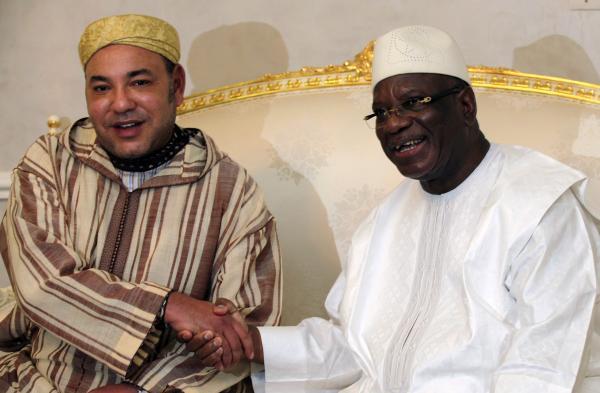 Mali: cérémonie en l'honneur du président Keïta