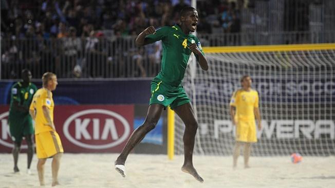 Mondial Beach Soccer : bonne entrée en matière des « Lions » vainqueurs de l'Ukraine