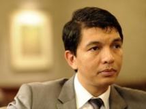 Andry Rajoelina, président malgache de la transition. AFP/Stephane De Sakutin