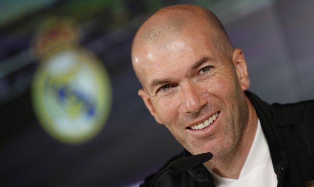 Zinedine Zidane se livre sur le Real Madrid