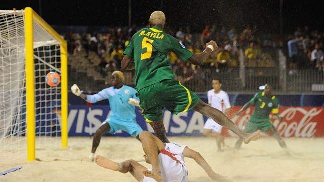 Mondial Beach Soccer-Sénégal 3-5 Iran : les « Lions » condamnés à battre le Brésil