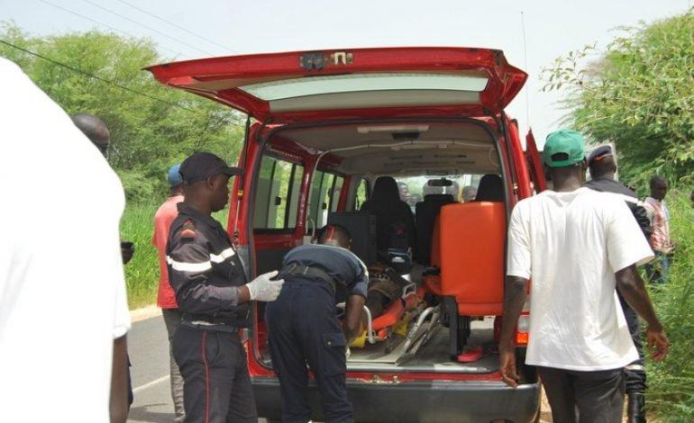 Cinq (5) morts et des blessés dans un accident sur la route de Thiès