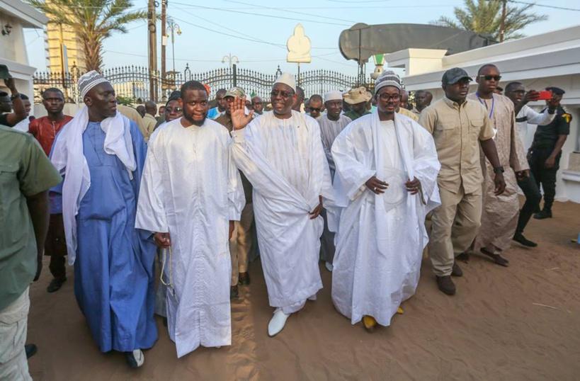 Le Khalife des mourides interdit toute huée pendant la visite du chef de l'Etat