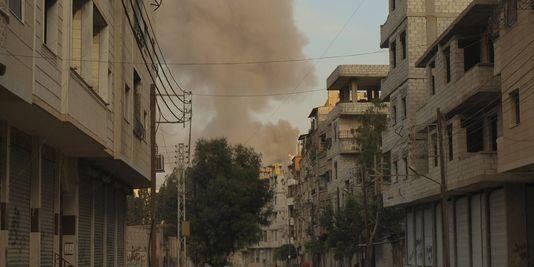 Un obus de mortier est tombé dans l'enceinte de l'ambassade de Russie à Damas (OSDH)