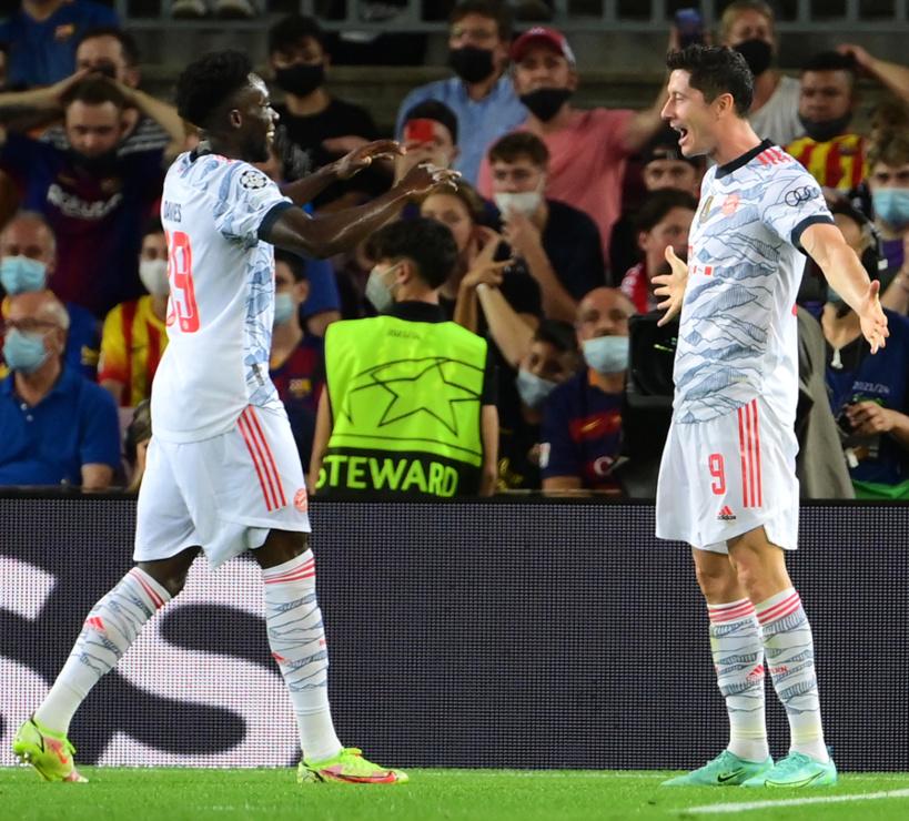 Ligue des champions: le Bayern écrase le Barça au Camp Nou (0-3)
