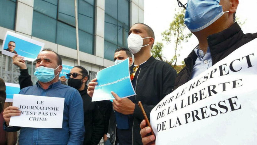 En Algérie, un journaliste du quotidien francophone Liberté, arrêté et écroué