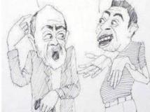 Les caricatures des «Echos de Forto», un journal clandestin en Erythrée. CApture d'écran