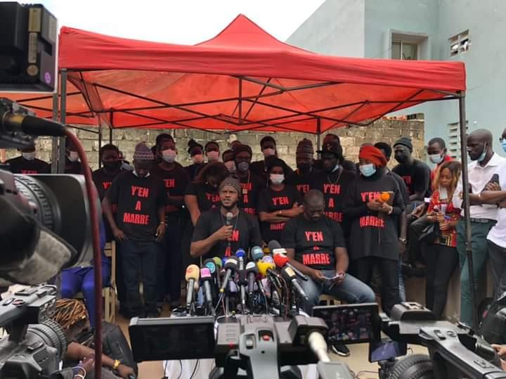 """Le mea culpa de Y'En A Marre: """"nous comprenons et acceptons l'indignation des Sénégalais"""""""