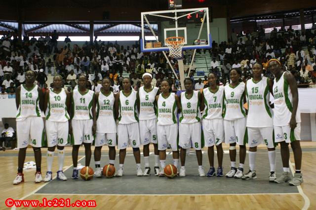 Afrobasket 2013 : Sénégal vs Algérie à 12h45 : les « Lionnes » vers une 4ème victoire de rang