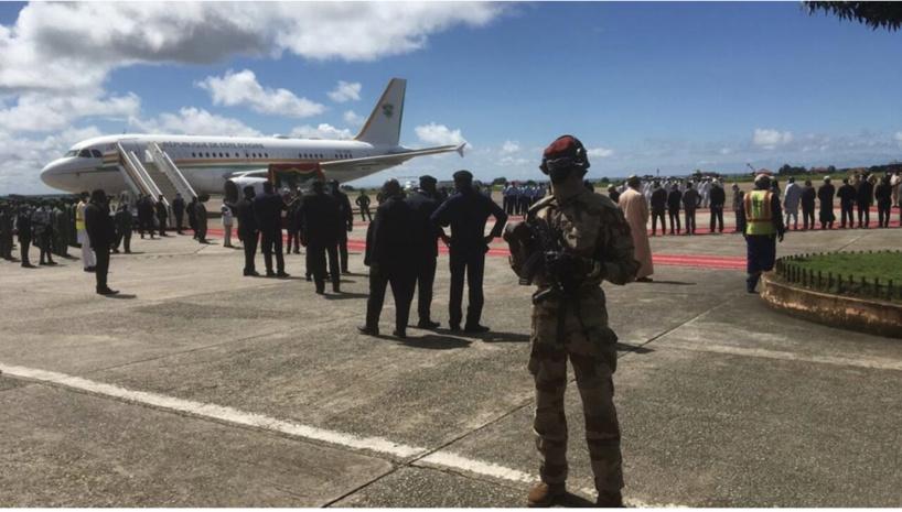 Guinée: une délégation de chefs d'État de la Cédéao est arrivée à Conakry