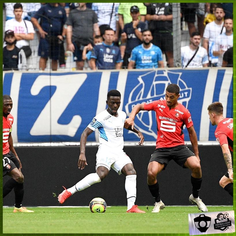 OM-Rennes: Bamba Dieng confirme sa bonne forme en ouvrant le score