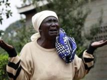 Mary Italo, mère de Thomas Italo, l'une des victimes de l'assaut des shebabs sur le centre commercial Westgate, à Nairobi. REUTERS/Thomas Mukoya