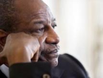 Le président guinéen, Alpha Condé. AFP PHOTO KENZO TRIBOUILLARD