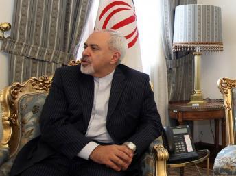 Le ministre iranien des Affaires étrangères, Mohammad Javad Zarif. Irna