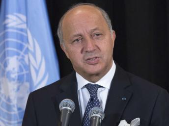 Laurent Fabius, le ministre français des Affaires étangères, le 26 septembre à l'ONU, New York. REUTERS/Brendan McDermid
