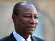 Le président guinéen Alpha Condé. Reuters